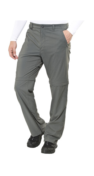 Royal Robbins Traveler Stretch Convertible - Pantalon Homme - gris